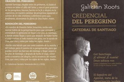 A credencial do peregrino e a Compostela