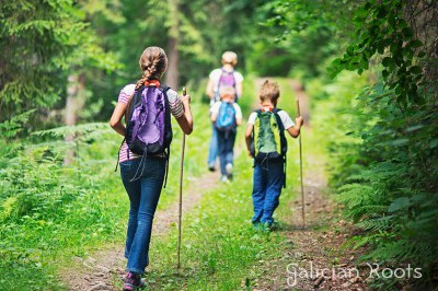The Camino de Santiago with family and children